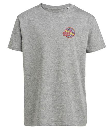 T-Shirt unisex - (140 & 152) - 100%Bio-BW - (weiß, heather grey, navy)