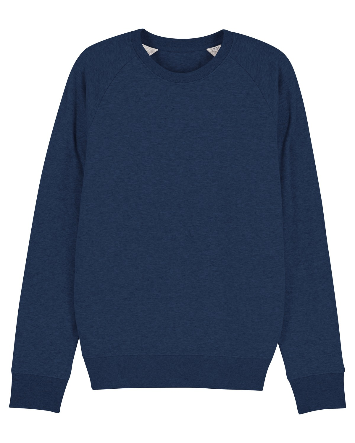 NEU Rundhals Sweatshirt HERREN - (S - XXL) - 100%BW (heather grey und black heather blue)