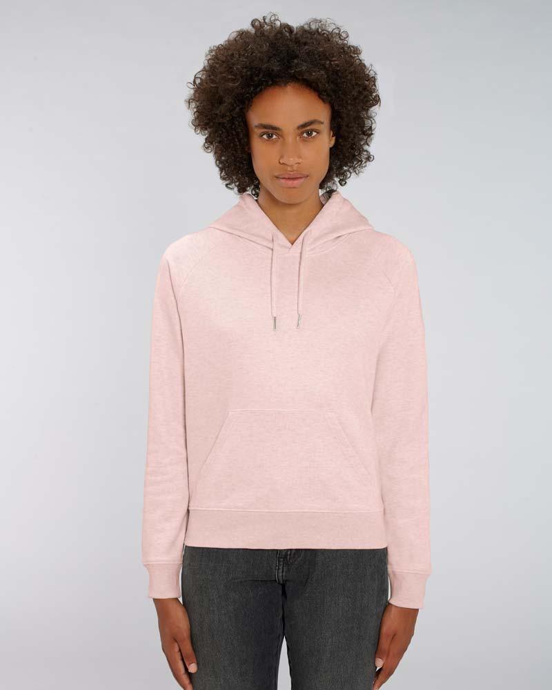 NEU Hoodie DAMEN - (XS - XL) - 85/15 in heather grey, black heather blue und cream heather pink